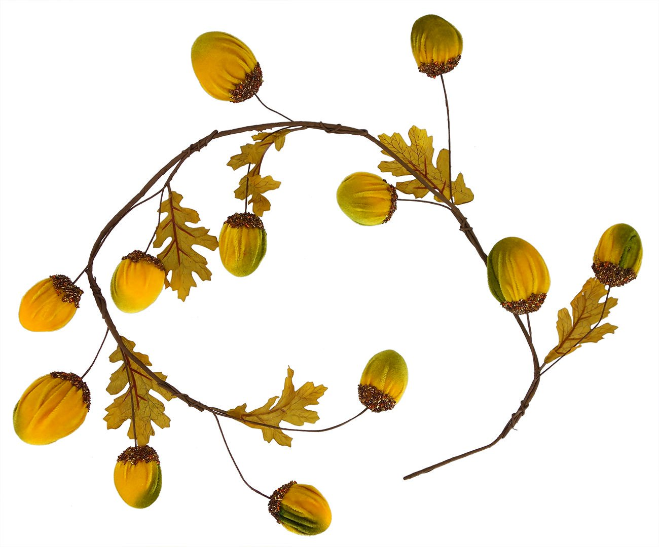 Acorn garland clipart png library library Harvest Gold Acorn Garland png library library