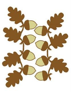 Acorn garland clipart clipart royalty free free acorn printable clip art @Susan Boyd | Glorious Crafts ... clipart royalty free