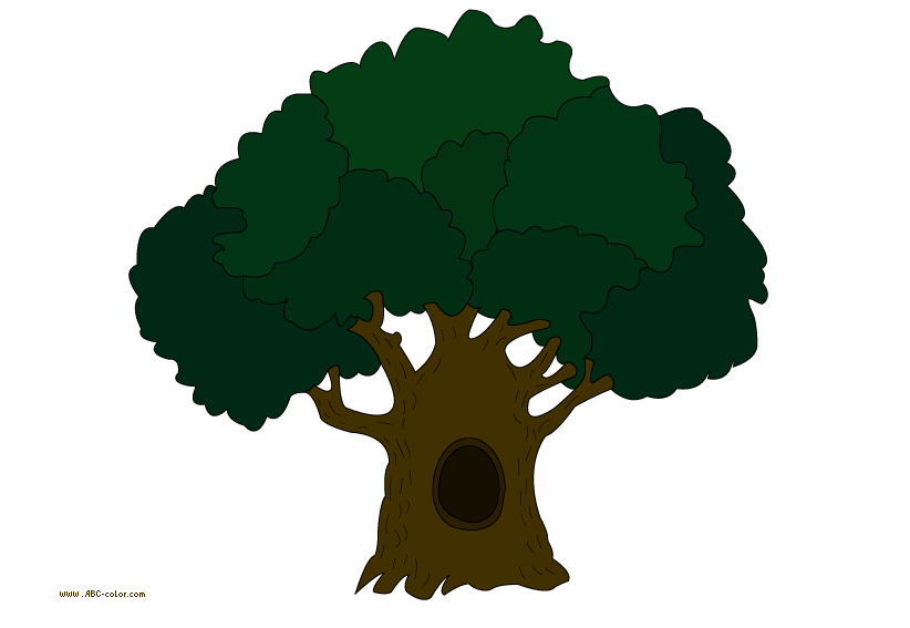 Acorn tree clipart png free download oak-tree raster picturet png free download