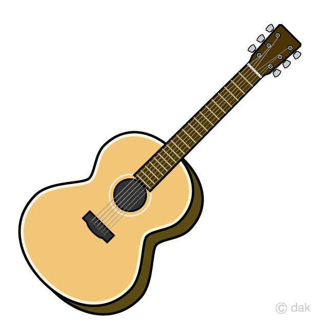Guitar clipart acoustic and electric