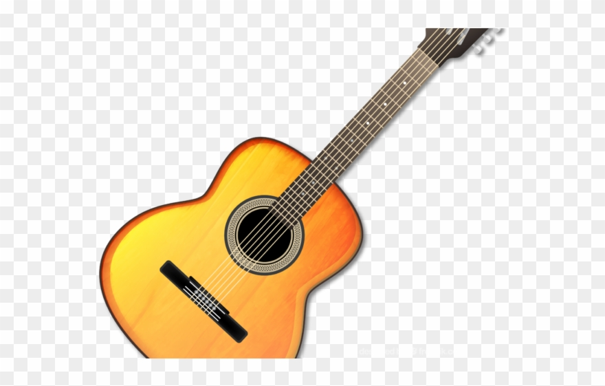 Acoustic Guitar Clipart Picsart - Yamaha Cg182s - Png Download ... black and white stock