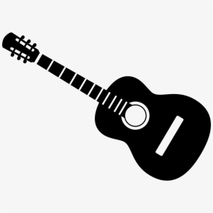 Acoustic Guitar Clip Art Many Interesting Cliparts - Silhouette ... clip library
