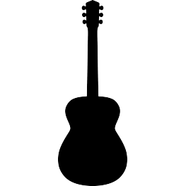 Acoustic guitar outline clipart images gallery for free download ... image transparent stock