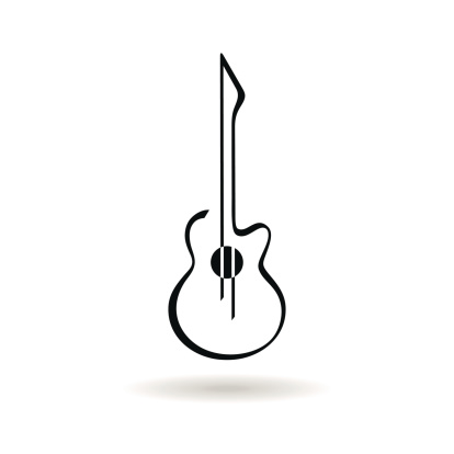 Guitar Outline | Free download best Guitar Outline on ClipArtMag.com picture freeuse download