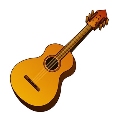 Guitar images free clipart png black and white library Free Acoustic Guitar Clipart, Download Free Clip Art, Free Clip Art ... png black and white library