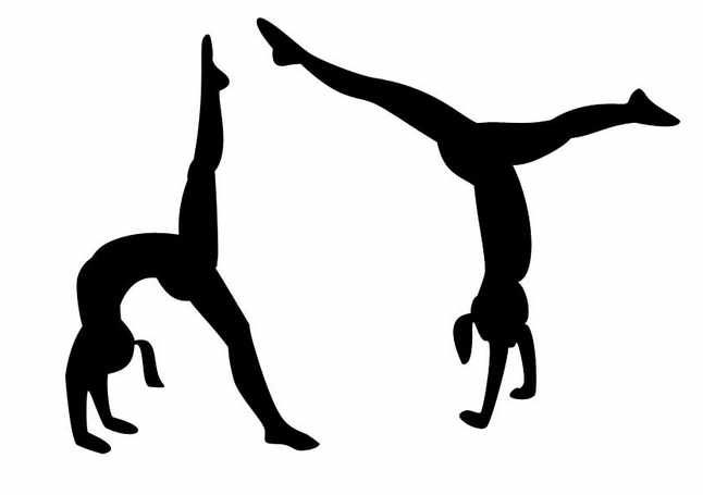 Gymnast images clipart free