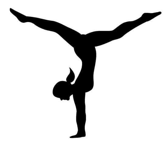 Acrobatics and tumbling clipart image free Tumbling images about gymnastics on gymnasts white clip art ... image free