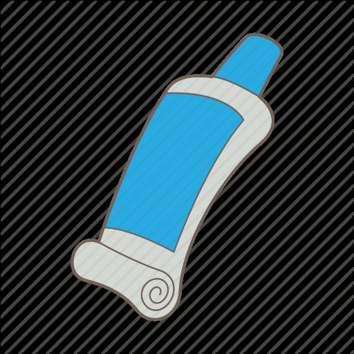Acrylic paint tube clipart svg free \'Art - Cartoon 2\' by Ivan Ryabokon svg free