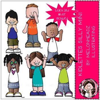 Acting silly clipart picture library download Kidlettes clip art - Silly - Mini - Melonheadz Clipart picture library download