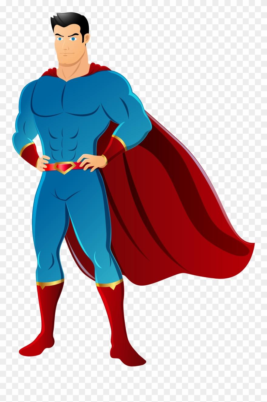 Action hero clipart vector royalty free download Transparent Clip Art Image - Super Hero Transparent Background - Png ... vector royalty free download