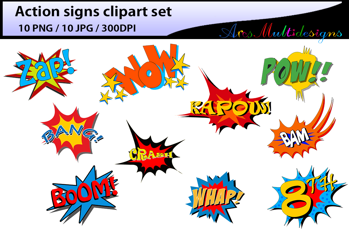 action signs High Quality clipart action sign silhouette zap clipart bang  clipart pow clipart boom clipart pop art comic book png library