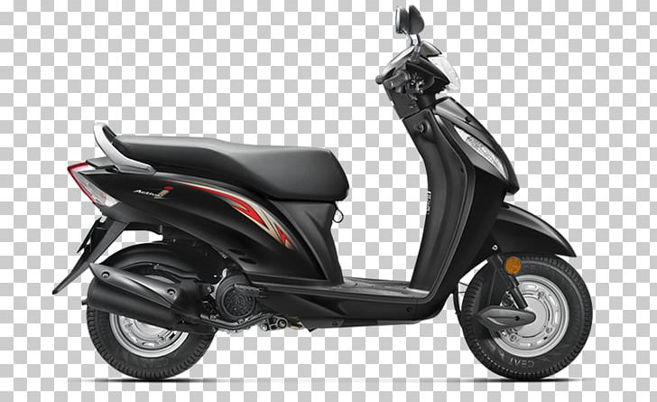 Honda Motor Company Honda Activa Car Scooter PNG, Clipart ... png black and white