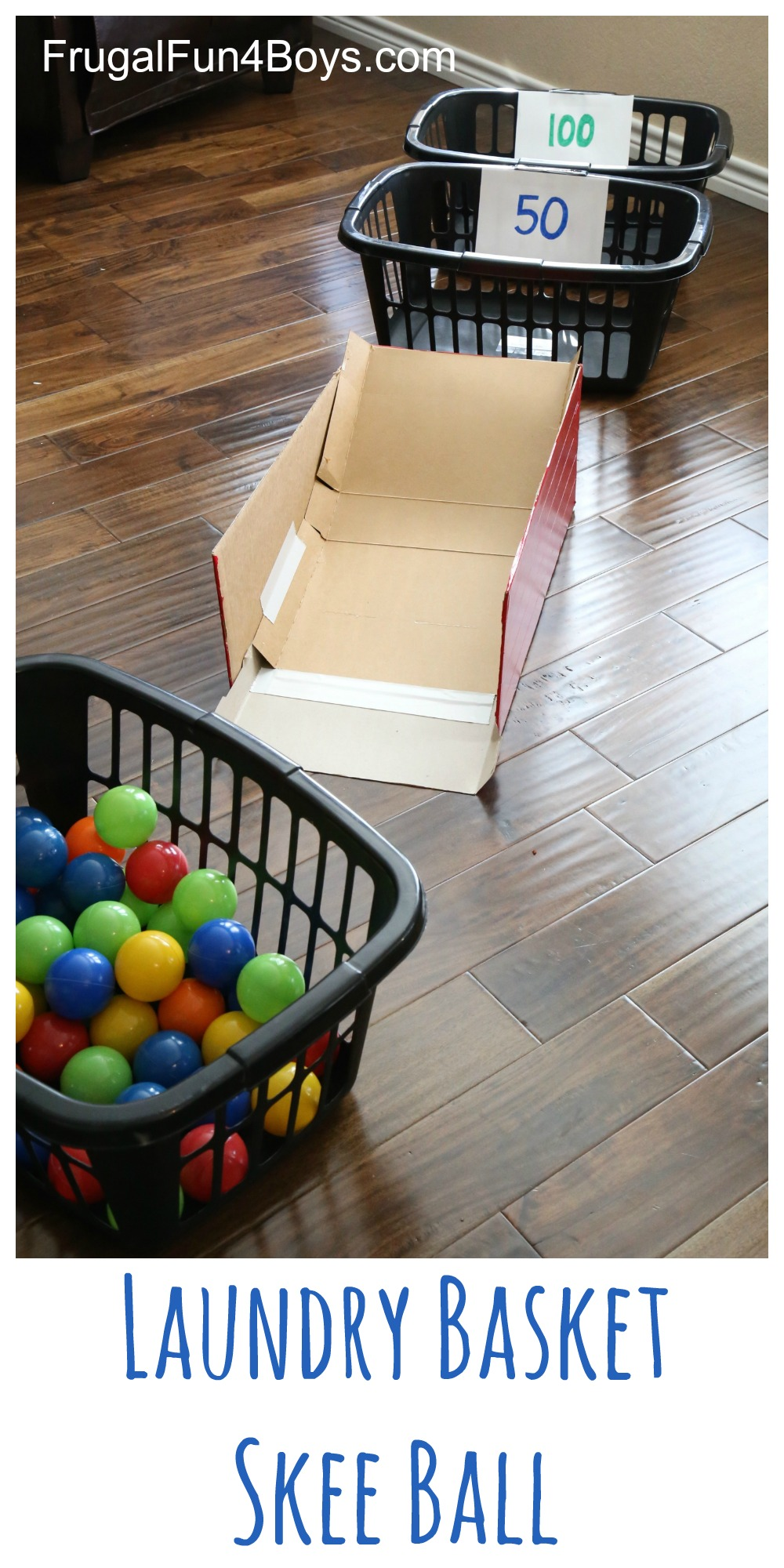 Active games clipart png library stock Laundry Basket Skee Ball (With Ball Pit Balls!) - Frugal Fun For ... png library stock