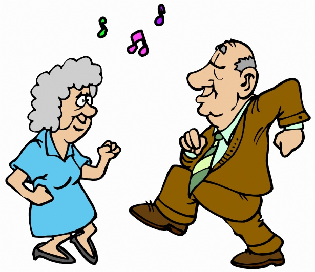 Active senior clipart public domain image black and white library Dancers 2 Free Stock Photo - Public Domain Pictures image black and white library