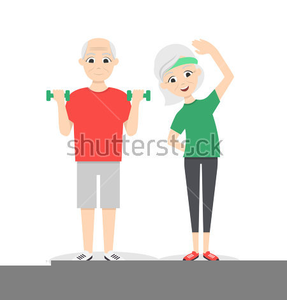 Active senior clipart public domain png black and white library Active Seniors Clipart | Free Images at Clker.com - vector clip art ... png black and white library