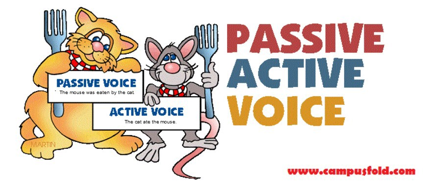 Active vs passive clipart vector freeuse library Wednesday Words: Active and Passive Voice Explained — Finally! vector freeuse library