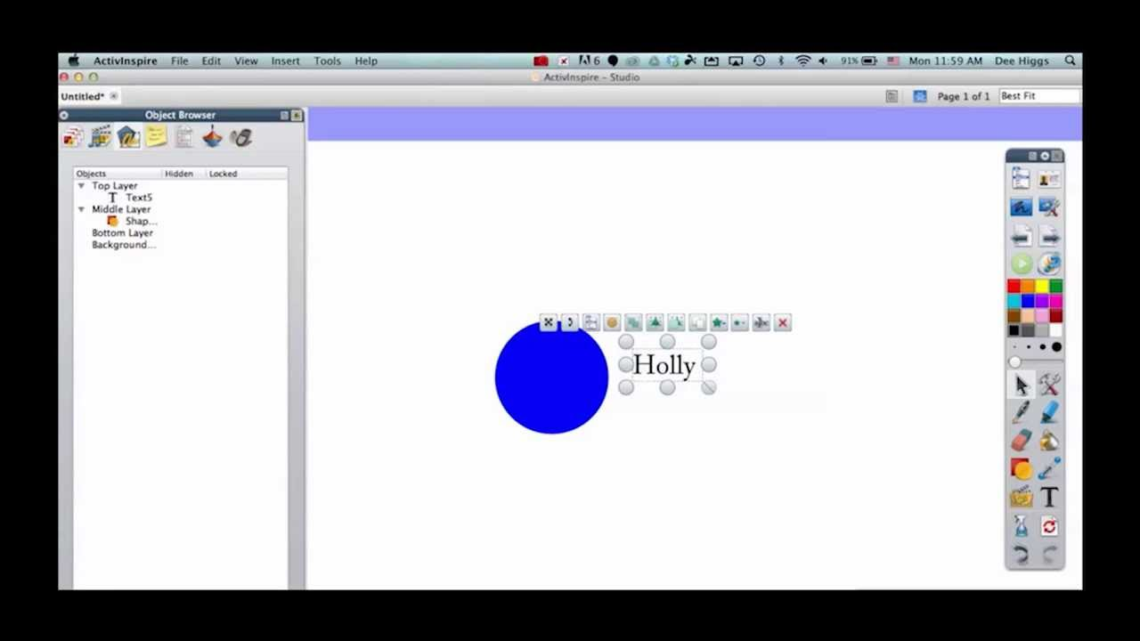 ActivInspire: How to Group Shapes and Text vector freeuse download