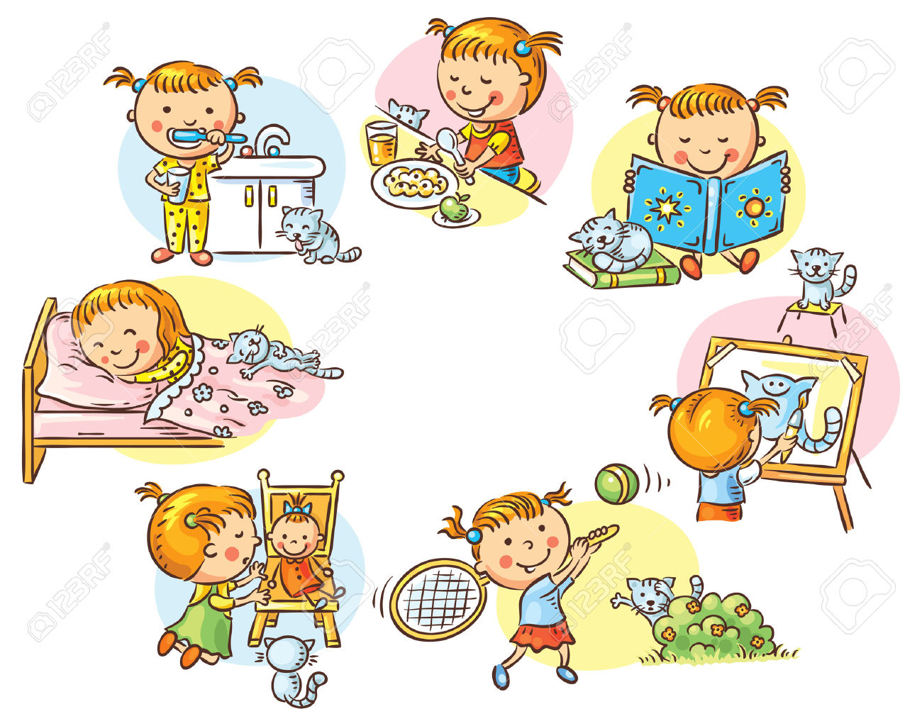 Activity station clipart graphic free download Daily activity clipart 1 » Clipart Station graphic free download