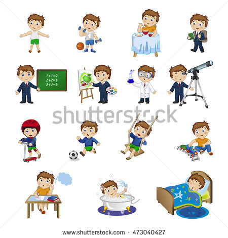 Activity station clipart vector library stock Daily activity clipart 9 » Clipart Station vector library stock