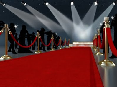 Actress red carpet clipart clip black and white library Hollywood Party Ideas and Theme Games clip black and white library