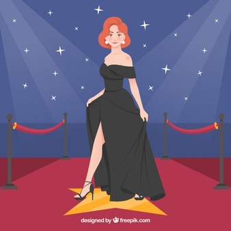 Actress red carpet clipart jpg free stock Actresses Vectors, Photos and PSD files | Free Download jpg free stock