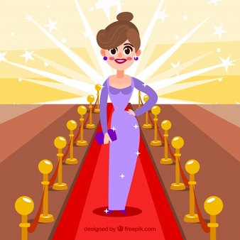 Actress red carpet clipart image Actresses Vectors, Photos and PSD files | Free Download image