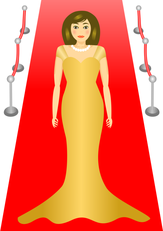 Actress red carpet clipart clip art royalty free download Standing,Gown,Art Vector Clipart - Free to modify, share, and use ... clip art royalty free download