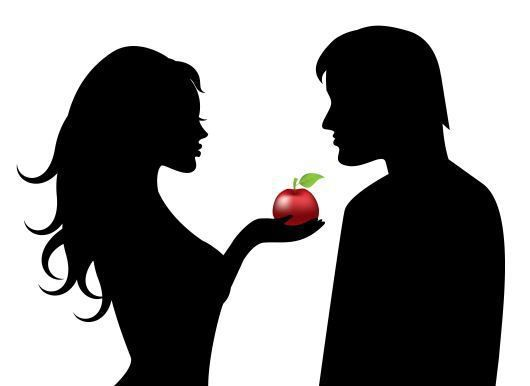 Adam silhouette clipart svg library download Download silhouette of adam and eve clipart Adam and Eve Forbidden fruit svg library download