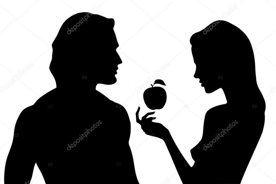 Adam silhouette clipart transparent download Download adam et eve silhouette clipart Adam and Eve Royalty-free transparent download