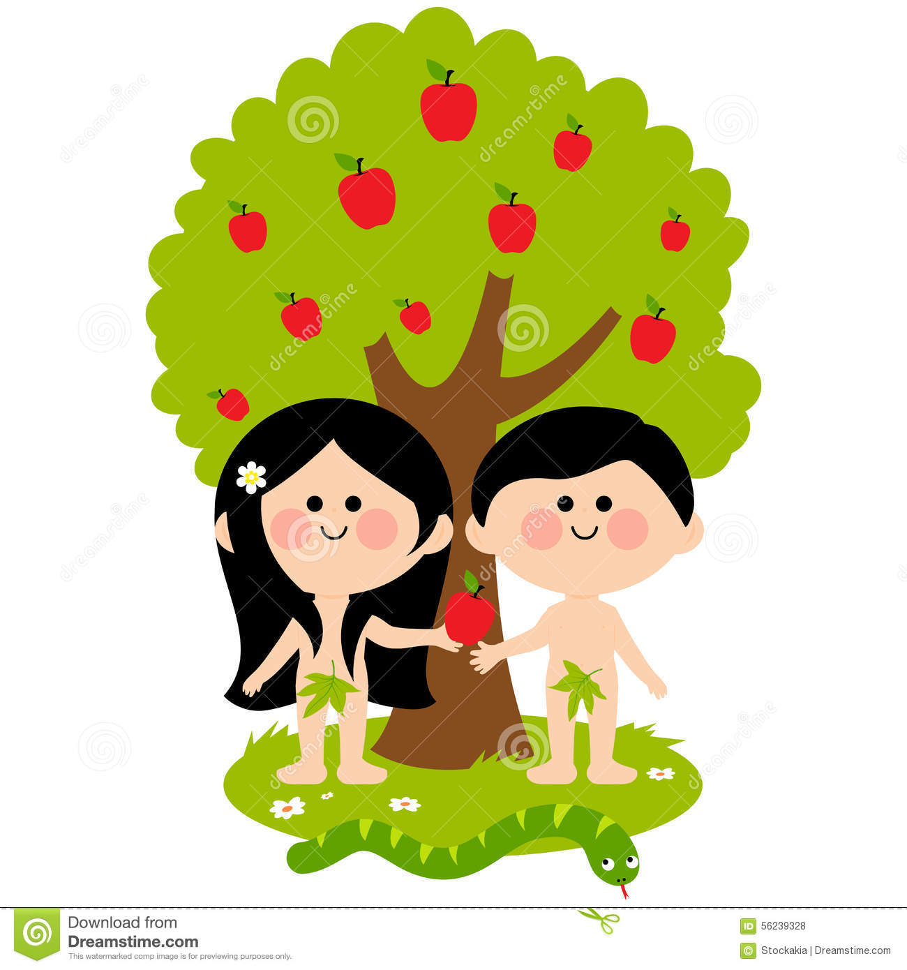 Adam und eva clipart svg stock Temptation Snake Apple Stock Photos, Images, & Pictures - 185 Images svg stock