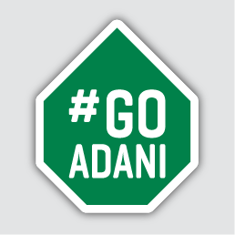 Go Adani - General Online Sticker - Spadix Print & Design graphic free download