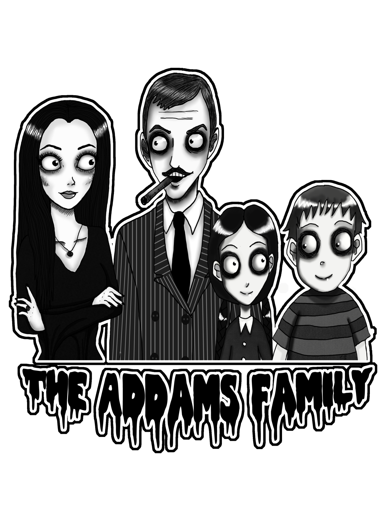 Addams clipart graphic royalty free stock Addams family clipart clipart images gallery for free download ... graphic royalty free stock