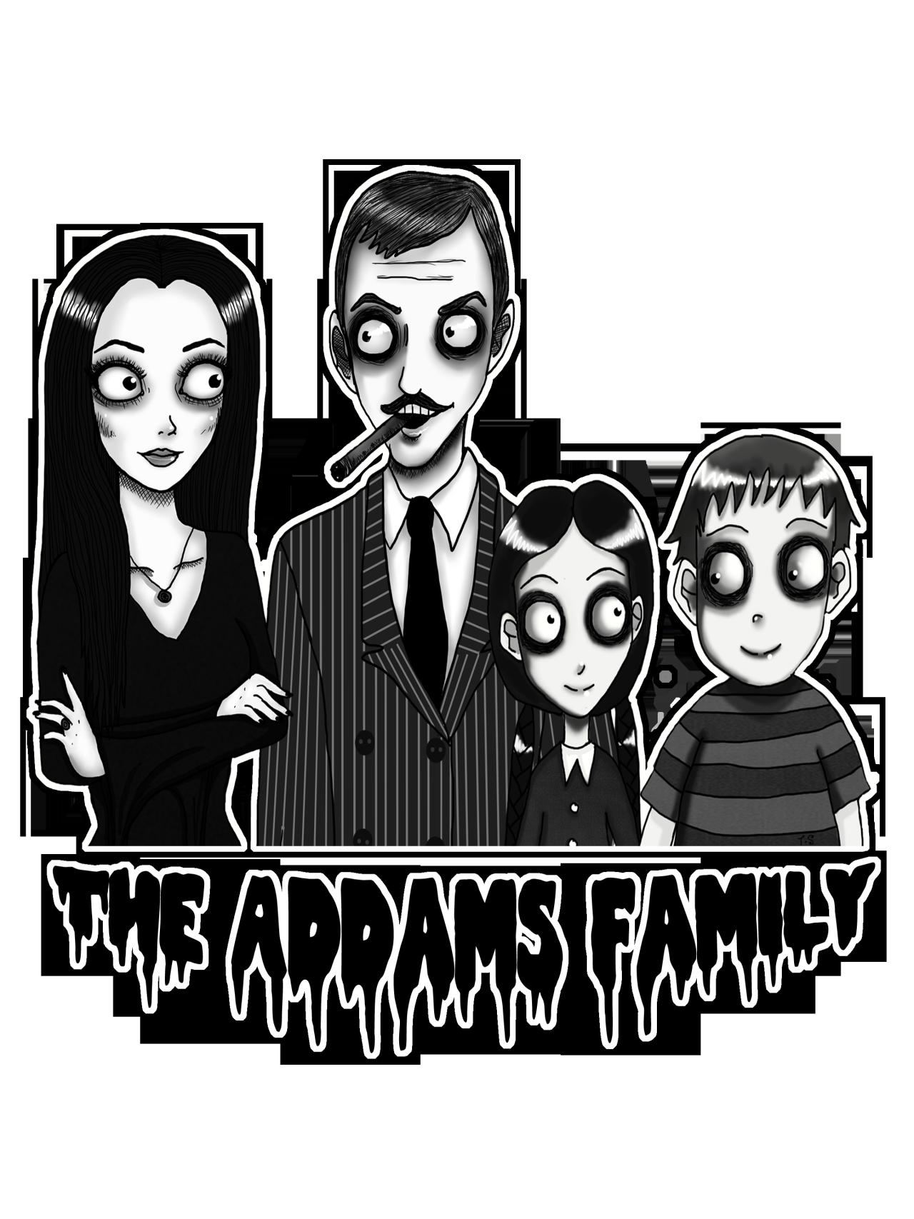Addams clipart