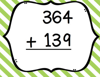 Adding 3 digits clipart images clipart download Two and Three Digit Addition & Subtraction Bingo clipart download