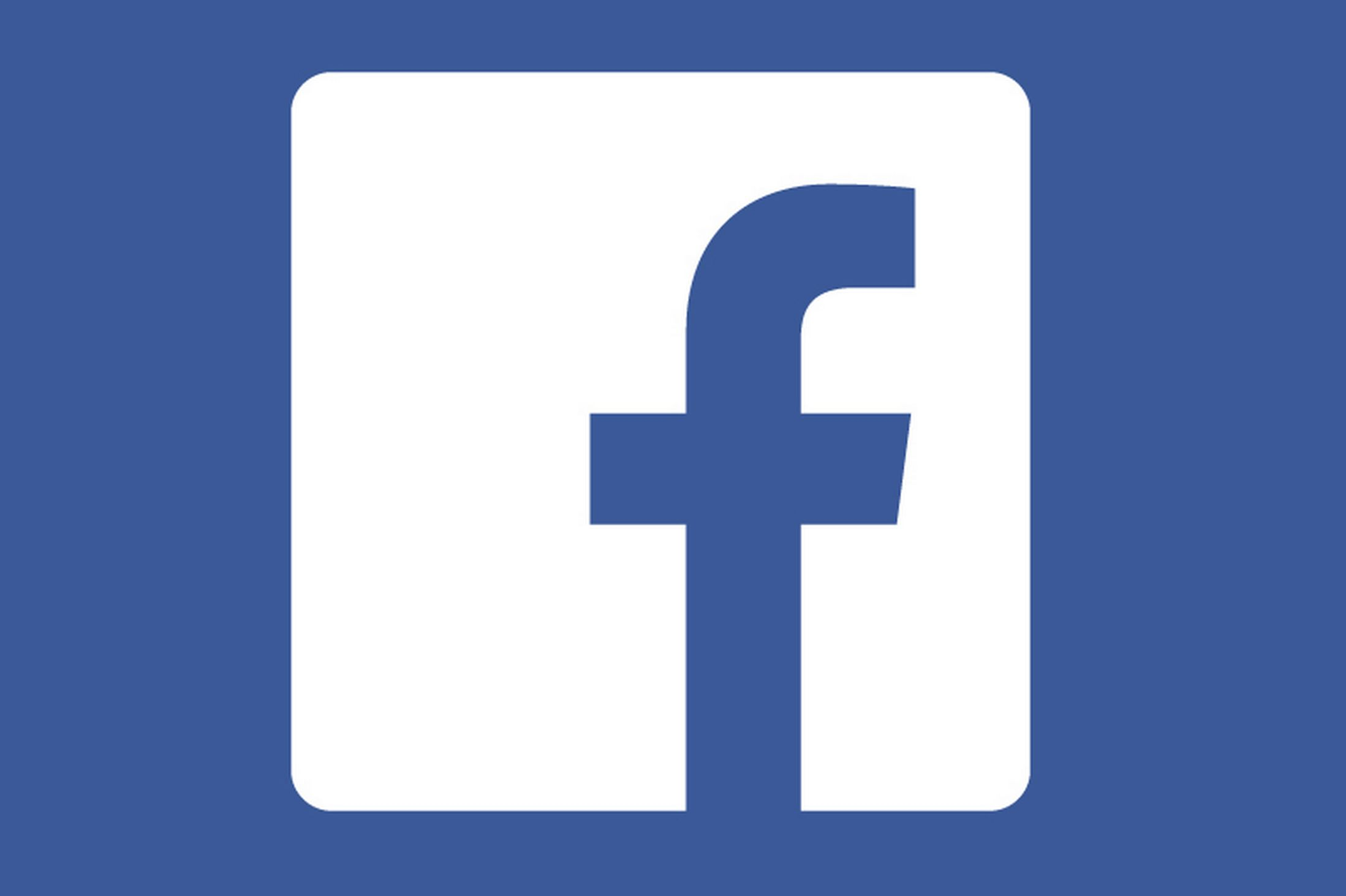 Free facebook icon clipart