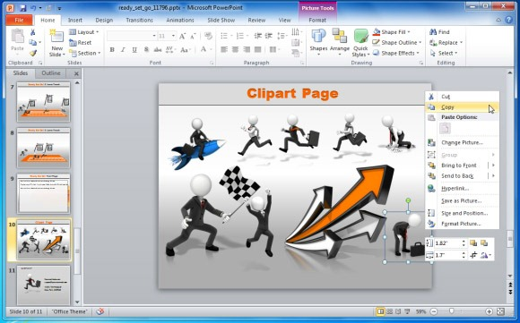 Powerpoint 2013 clipart location clip royalty free stock Create Business Performance PowerPoint Presentations With Ready-Set ... clip royalty free stock