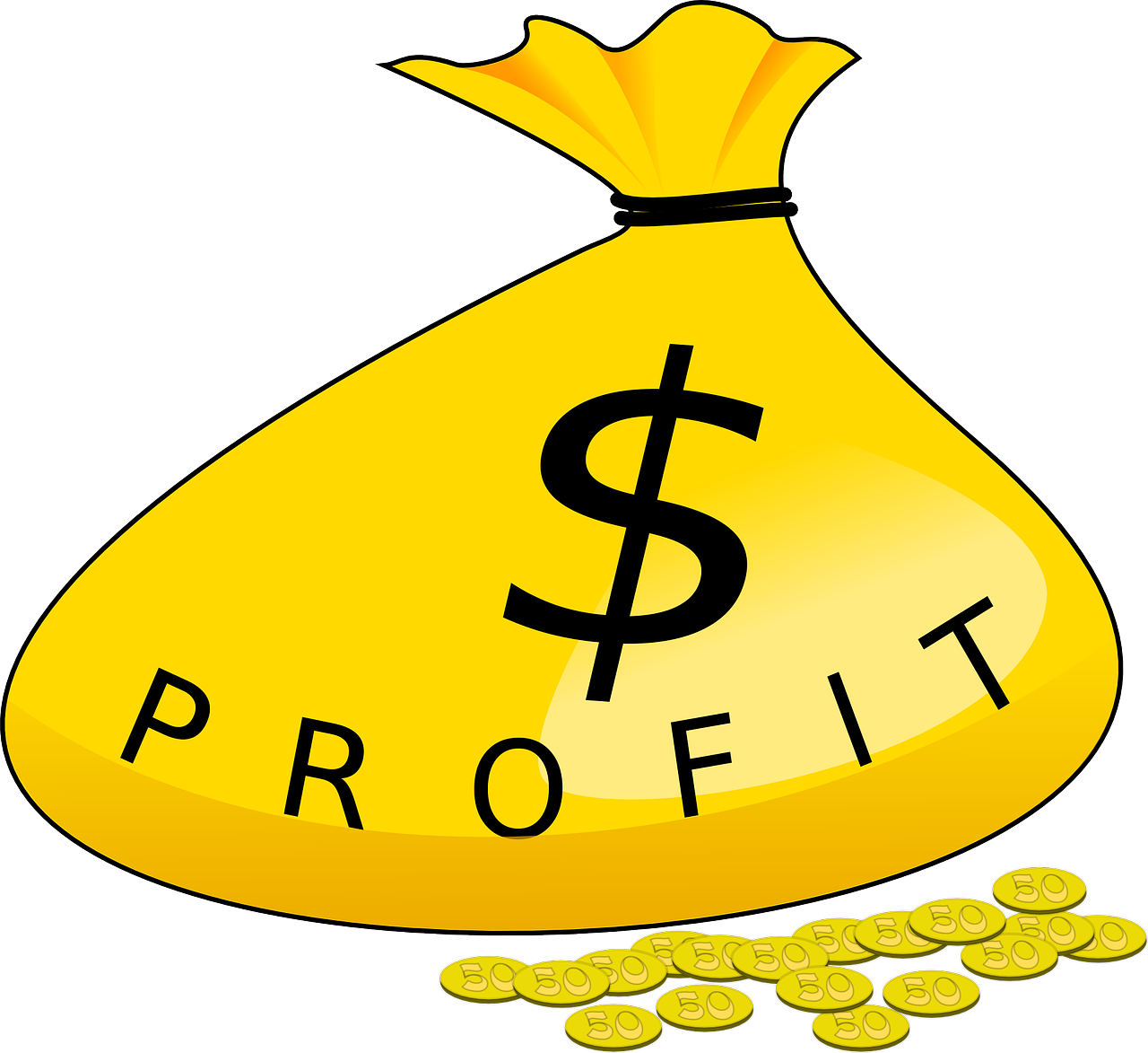 Adding money clipart png stock Taking Profits while increasing Dividend Income png stock