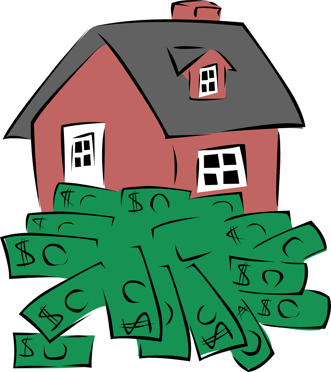 Money supply clipart free stock Low-cost energy saving tips for landlords - The Money Shed free stock