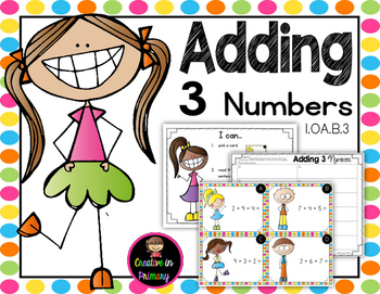 Adding Three Numbers Scoot Worksheets & Teaching Resources | TpT graphic black and white library