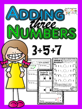 Three Addends: Three different activities for adding three numbers ... picture free