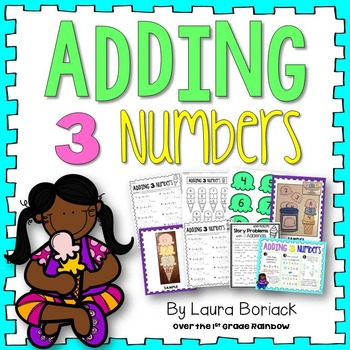 Adding 3 Numbers png freeuse download