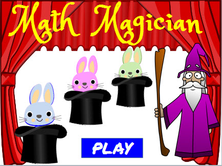 Math Magician Add Three Numbers Game picture black and white stock
