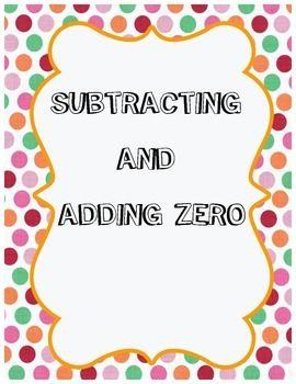 Addition addition zero clipart image free stock Adding and Subtracting Zero | addition | Adding, subtracting, Math ... image free stock