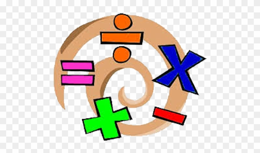 Mathematics - Addition Multiplication Subtraction Division - Free ... jpg transparent library