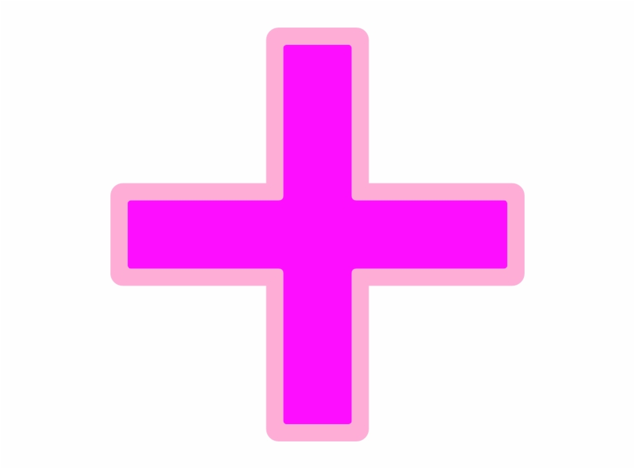 Addition clipart png png transparent stock Plus Sign Clip Art At Clipart Library - Addition Sign Pink ... png transparent stock