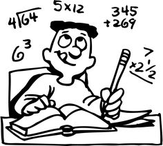 Addition subtraction math clipart black and white graphic transparent stock 14 Best Math Clipart images in 2019 | Math clipart, Math, Teaching math graphic transparent stock