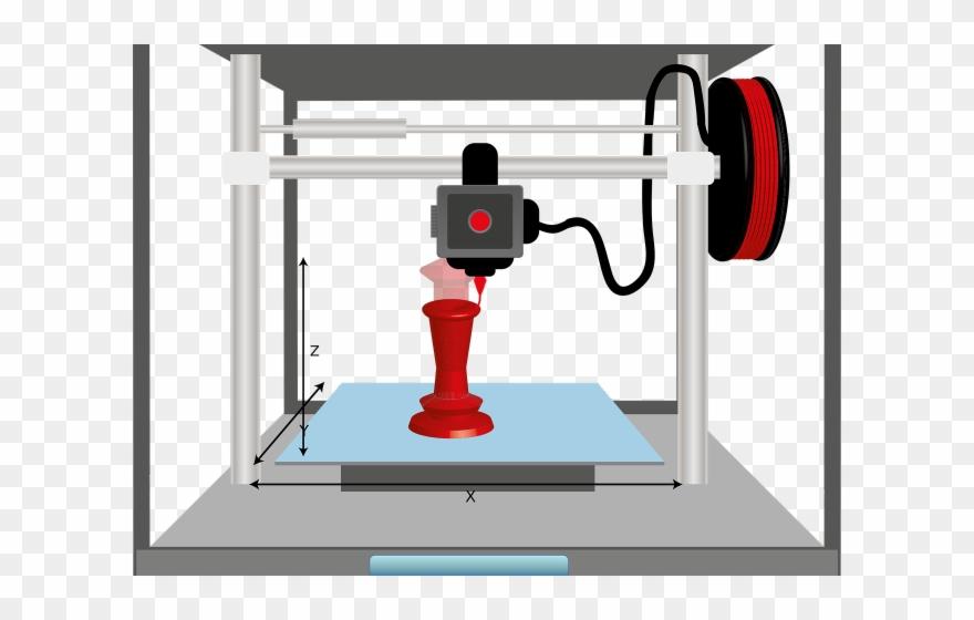 Additive manufacturing clipart clip art black and white download Printer Clipart Clip Art - Additive Manufacturing And Subtractive ... clip art black and white download
