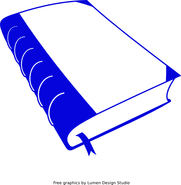 Clipart book borders graphic freeuse Dark Blue Book Clip Art at Clker.com - vector clip art online ... graphic freeuse