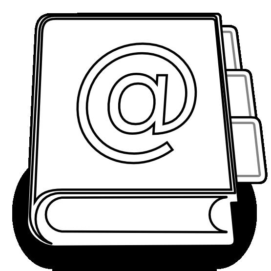 Clipart address book svg free clipartist.net » Clip Art » address book SVG svg free