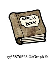 Address books clipart clip art royalty free Book Cartoon Clip Art - Royalty Free - GoGraph clip art royalty free